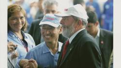 サイト管理者とルーラ大統領
