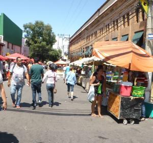 Feira de Domingo no centro da cidade Manaus