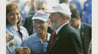 Administrador do Site com Presidente Lula